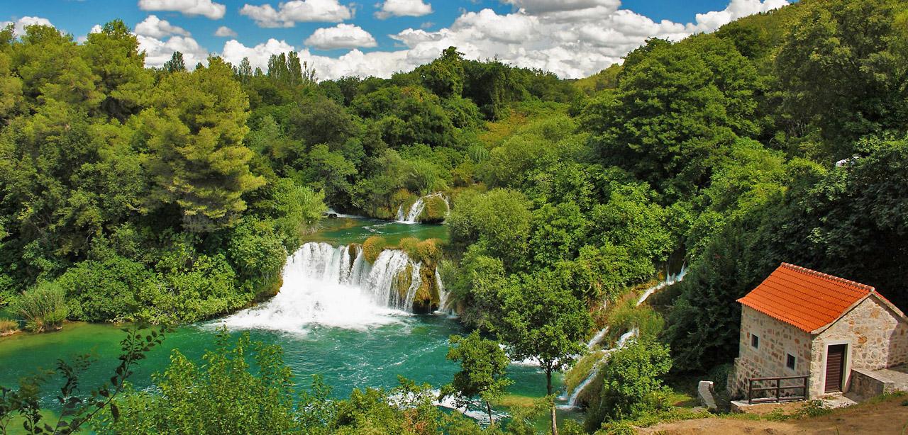 Krka_waterfalls_Yacht_Charter_Holidays
