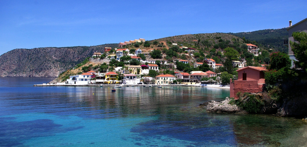Assos_Kefalonia_Greece_yacht_charter