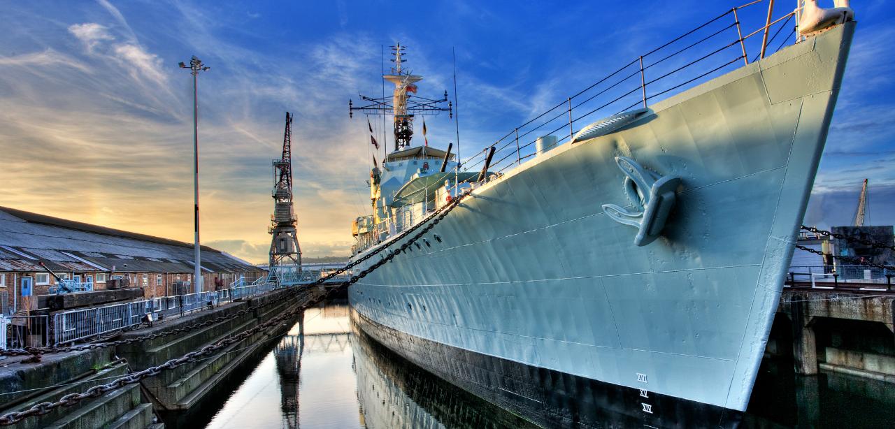 HMS_Cavalier_Chatham_Dockyard