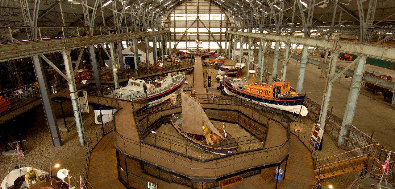 RNLI_museum_Chatham_Dockyard