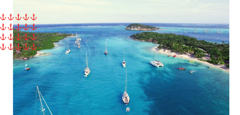 Tobago Cays Grenadines yacht charter
