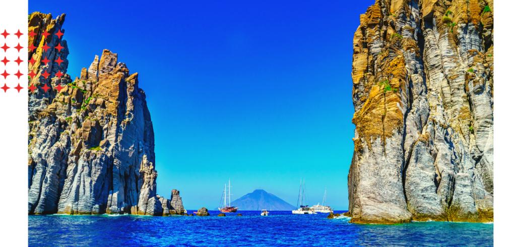 Aeolian Islands Sicily yacht charters