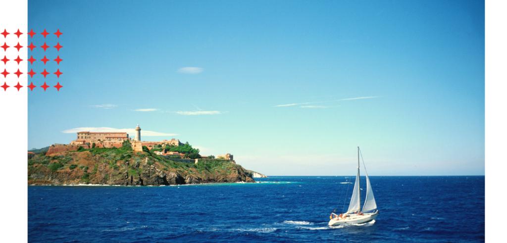Sail Elba on a yacht charter