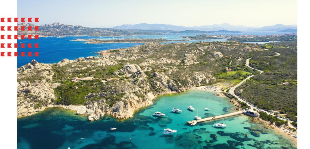 Sail La Maddalena in Sardinia Italy on a yacht charter