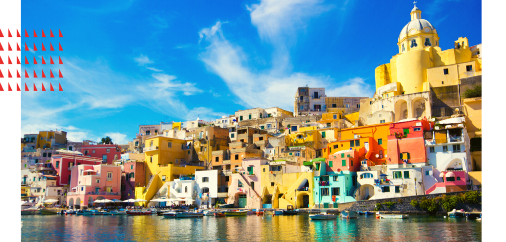 Sail on a yacht charter in Procida