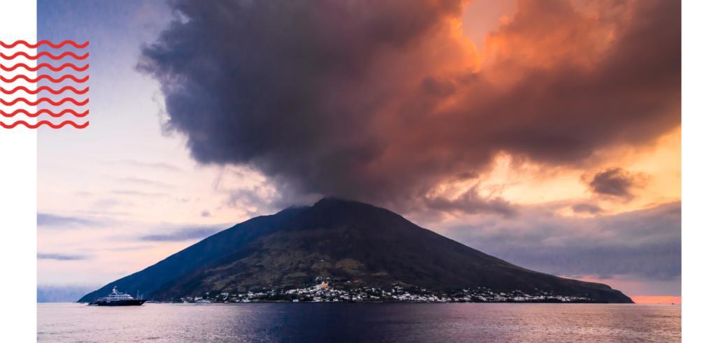 Stromboli volcano, Aeolian Islands
