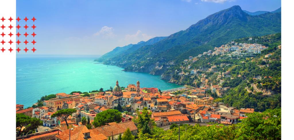 Sail the Amalfi Coast on an Italian yacht charter